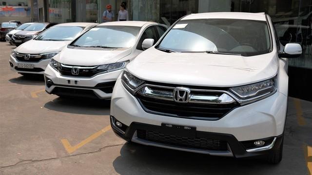 Bảng giá xe Honda tháng 9/2018