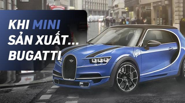 Bugatti, Porsche và McLaren sẽ ra sao nếu thuê MINI thiết kế?