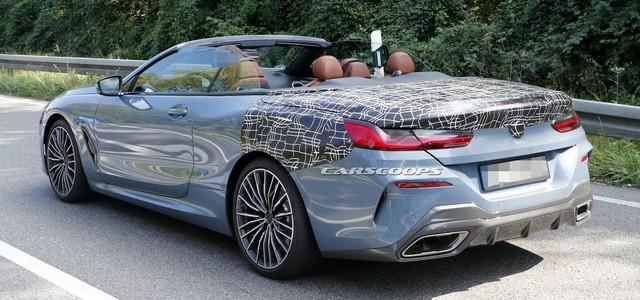 BMW 8-Series mui trần hoàn chỉnh 95% lộ ảnh nóng - Ảnh 2.