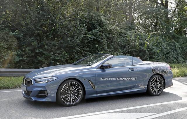 BMW 8-Series mui trần hoàn chỉnh 95% lộ ảnh nóng - Ảnh 1.