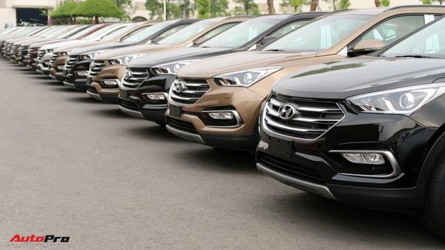 Hyundai Santa Fe ngừng lắp ráp, dọn đường ra mắt thế hệ mới