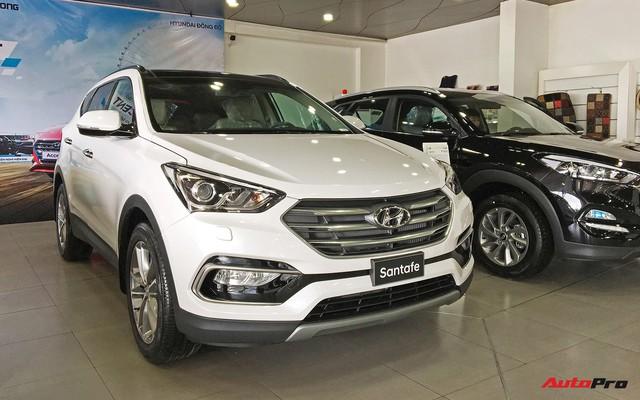 Hyundai Santa Fe ngừng lắp ráp, dọn đường ra mắt thế hệ mới - Ảnh 1.