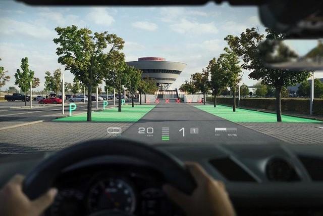 Porsche, Hyundai tìm đến nhà sản xuất màn hình HUD siêu xịn - Ảnh 4.