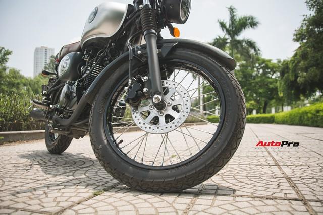 Đánh giá Kawasaki W175 - Xe côn tay giá chỉ 66 triệu đồng cho người nhập môn   - Ảnh 9.
