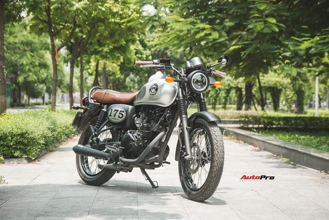 Đánh giá Kawasaki W175 - Xe côn tay giá chỉ 66 triệu đồng cho người nhập môn   - Ảnh 12.