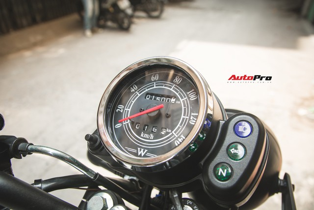 Đánh giá Kawasaki W175 - Xe côn tay giá chỉ 66 triệu đồng cho người nhập môn   - Ảnh 6.