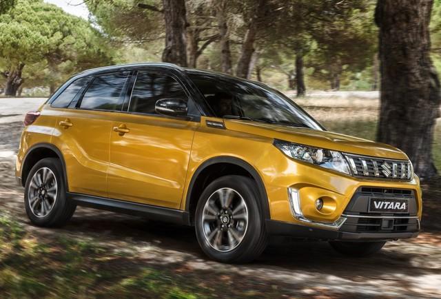 Suzuki Vitara 2019 lộ diện hoàn toàn trước ngày ra mắt - Ảnh 1.