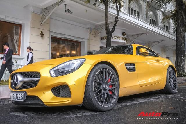 Nữ đại gia Sài Gòn đeo biển cho Mercedes-AMG GT S màu vàng đầu tiên tại Việt Nam - Ảnh 5.
