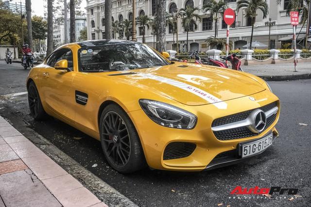 Nữ đại gia Sài Gòn đeo biển cho Mercedes-AMG GT S màu vàng đầu tiên tại Việt Nam - Ảnh 4.