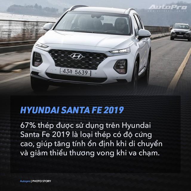 Hyundai Santa Fe 2019 và 9 điều thú vị cần biết - Ảnh 6.