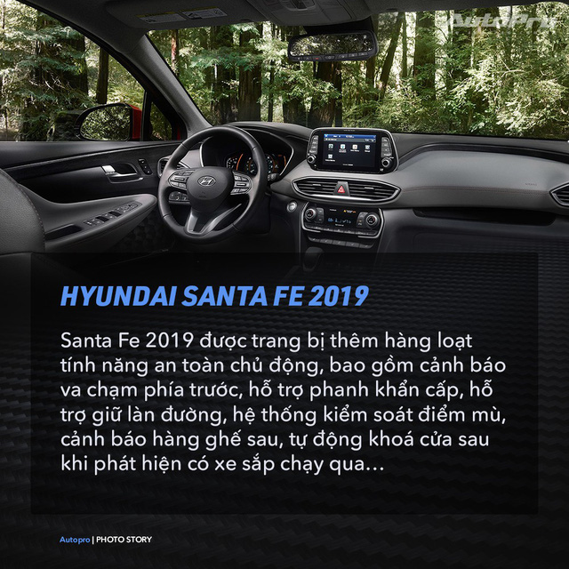 Hyundai Santa Fe 2019 và 9 điều thú vị cần biết - Ảnh 7.
