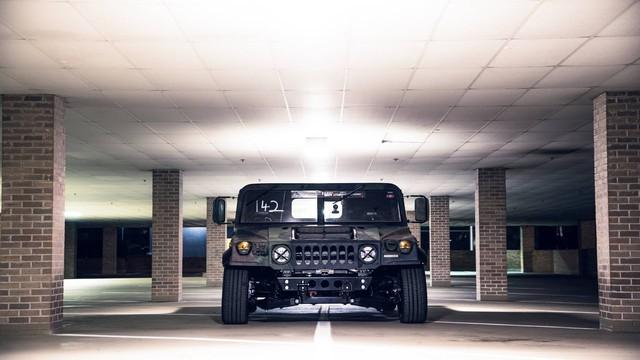 Mil-Spec Hummer H1 Track Titan: Quái vật 900 mã lực trên đường đua - Ảnh 3.