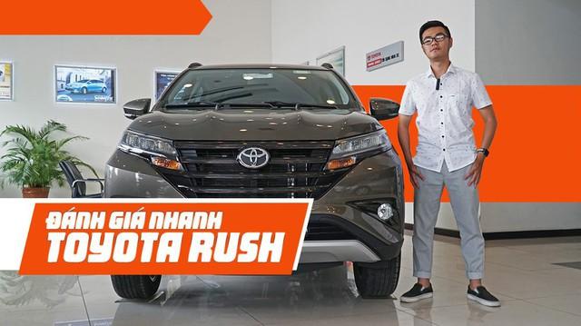 Đánh giá nhanh Toyota Rush: Vừa đủ để gây áp lực lên Xpander
