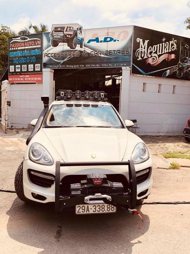 Dân chơi Việt độ Porsche Cayenne cho mùa phá xe VOC 2018 - Ảnh 4.