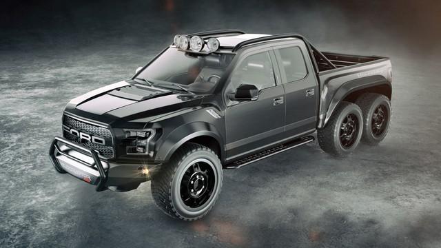 Hennessey Bronco VelociRaptor - Siêu phẩm SUV giá ngang siêu xe chuẩn bị trình làng - Ảnh 1.