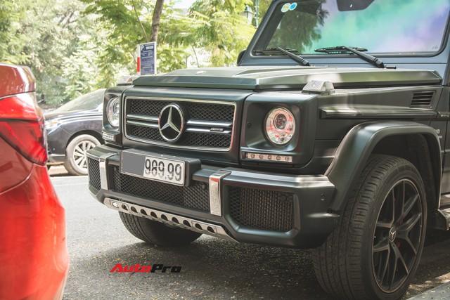Mercedes-Benz G63 AMG Edition 463 đeo biển tứ quý 9 tại Hà Nội - Ảnh 2.