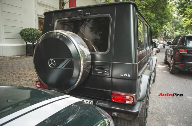 Mercedes-Benz G63 AMG Edition 463 đeo biển tứ quý 9 tại Hà Nội - Ảnh 10.