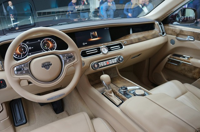7 sự thật bất ngờ giờ mới kể về Aurus Senat - Rolls-Royce của nước Nga - Ảnh 11.