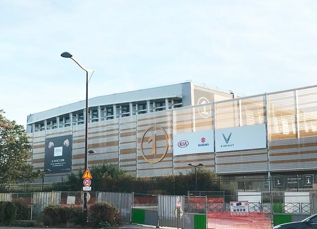 Chùm ảnh: Cận cảnh 2 xe VinFast được vận chuyển tới Paris Motor Show - Ảnh 12.
