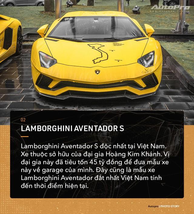 Những mẫu Lamborghini Aventador độc nhất Việt Nam  - Ảnh 2.