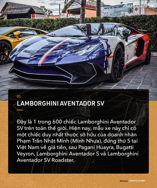 Những mẫu Lamborghini Aventador độc nhất Việt Nam  - Ảnh 5.