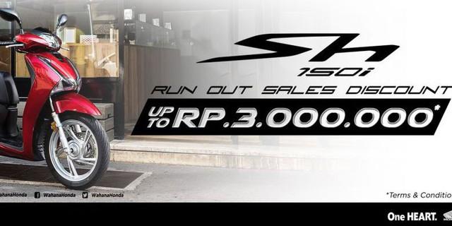 Cháy hàng, độn giá ở Việt Nam, Honda SH150i không bán nổi xe nào trong 4 tháng ở Indonesia - Ảnh 2.