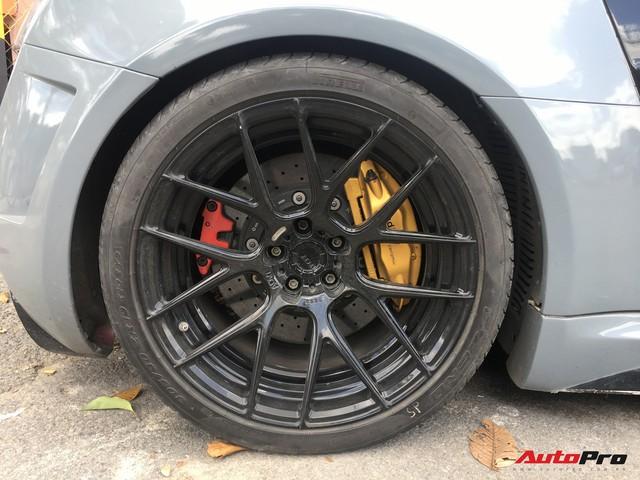 """Audi R8 độ """"khủng"""" nhất Việt Nam khoác màu xanh đá lạ lẫm - Ảnh 2."""