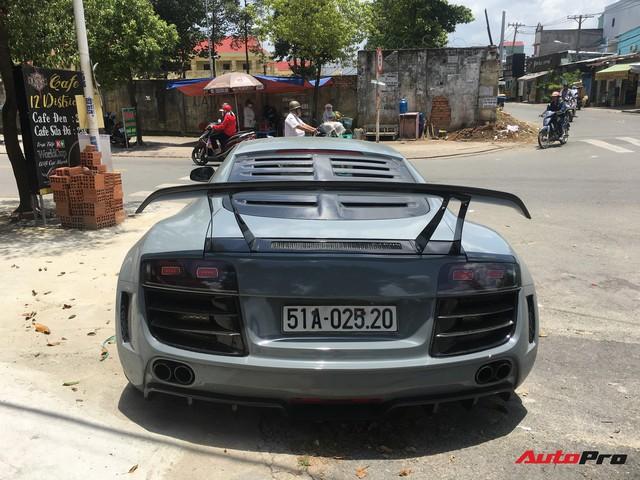 """Audi R8 độ """"khủng"""" nhất Việt Nam khoác màu xanh đá lạ lẫm - Ảnh 5."""