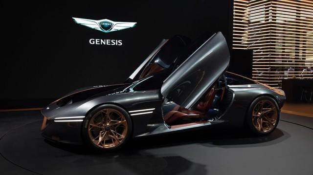 Đỉnh cao xe Hàn Genesis Essentia sẽ được sản xuất giới hạn