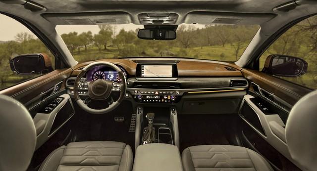 SUV 7 chỗ cỡ lớn Kia Telluride bất ngờ ra mắt bản độ trước cả bản chính thức - Ảnh 3.