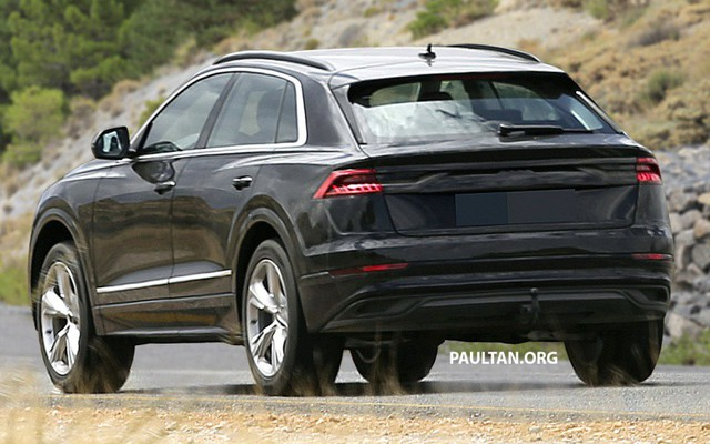 Audi Q8 bất ngờ lộ diện những hình ảnh thực tế đầu tiên - Ảnh 3.