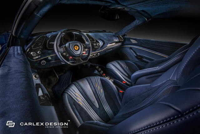Ferrari 488 Spider độ nội thất: Khi siêu xe trở nên siêu sang - Ảnh 1.