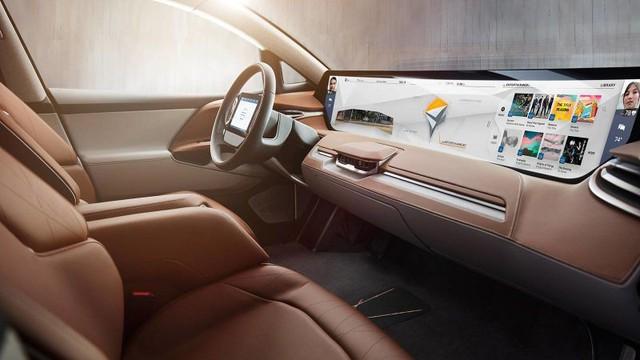 Byton Concept - xe điện Trung Quốc có màn hình giải trí lớn nhất thế giới - Ảnh 4.