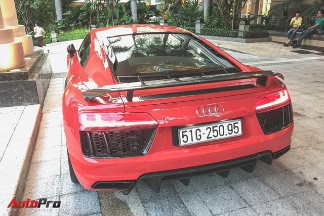Audi R8 V10 Plus từng của Đông Nhi và Ông Cao Thắng tái xuất trên phố - Ảnh 2.