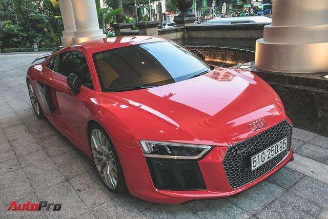Audi R8 V10 Plus từng của Đông Nhi và Ông Cao Thắng tái xuất trên phố - Ảnh 5.
