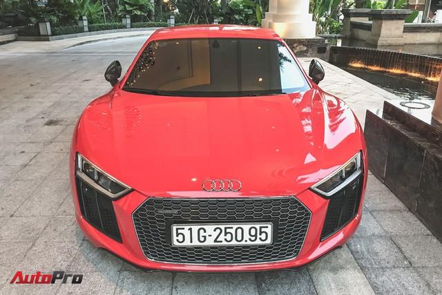 Audi R8 V10 Plus từng của Đông Nhi và Ông Cao Thắng tái xuất trên phố - Ảnh 6.