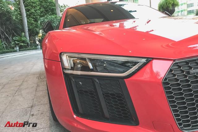 Audi R8 V10 Plus từng của Đông Nhi và Ông Cao Thắng tái xuất trên phố - Ảnh 7.