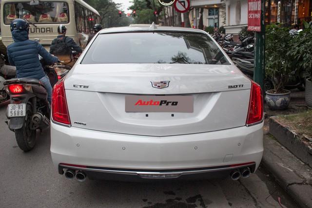 Sedan hạng sang Cadillac CT6 Premium Luxury đầu tiên xuất hiện tại Hà Nội - Ảnh 8.