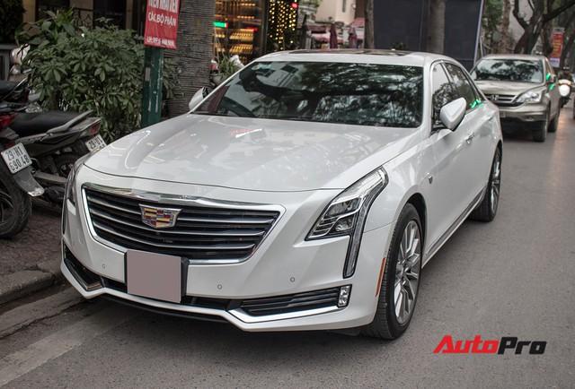 Sedan hạng sang Cadillac CT6 Premium Luxury đầu tiên xuất hiện tại Hà Nội - Ảnh 1.