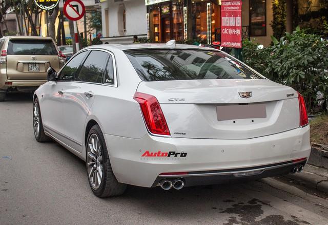 Sedan hạng sang Cadillac CT6 Premium Luxury đầu tiên xuất hiện tại Hà Nội - Ảnh 3.