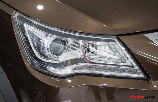 BAIC F6 nhái Lexus RX, giá 588 triệu đồng cạnh tranh Toyota Innova tại Việt Nam - Ảnh 3.