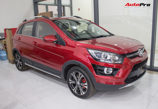 Đấu Ford EcoSport, xe Trung Quốc BAIC V2 giá 468 triệu đồng tại Việt Nam - Ảnh 1.