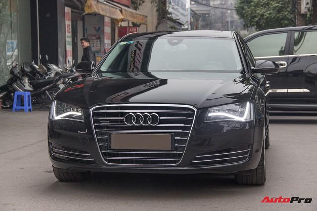 Audi A8L lăn bánh hơn 48.000km bán lại giá 2,85 tỷ đồng tại Hà Nội - Ảnh 1.
