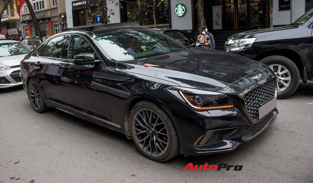 Genesis G80 Sport 2018 bất ngờ xuất hiện tại Việt Nam - Ảnh 1.