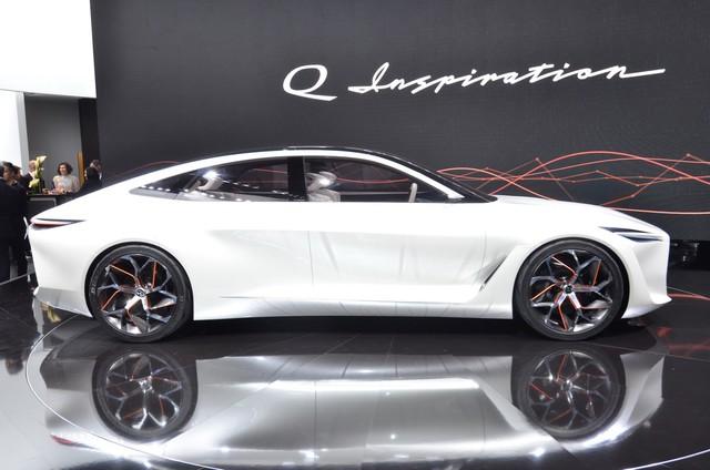 Q Inspiration Concept - tương lai của sedan Infiniti hạng sang - Ảnh 8.