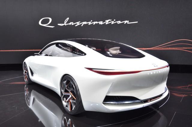 Q Inspiration Concept - tương lai của sedan Infiniti hạng sang - Ảnh 7.