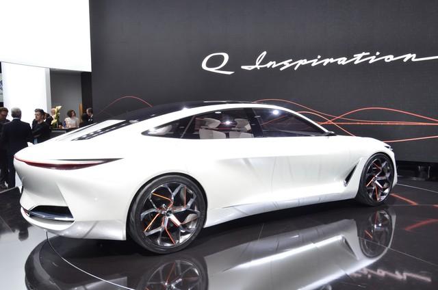 Q Inspiration Concept - tương lai của sedan Infiniti hạng sang - Ảnh 6.