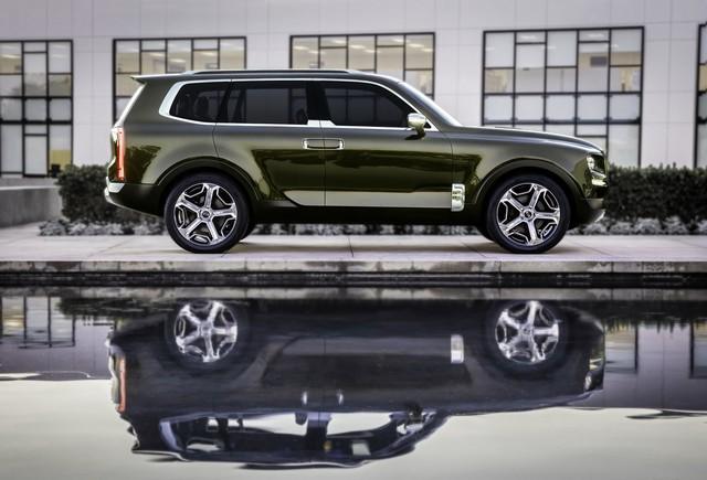 Kia sắp sản xuất SUV đàn anh của Sorento mang tên Telluride - Ảnh 2.