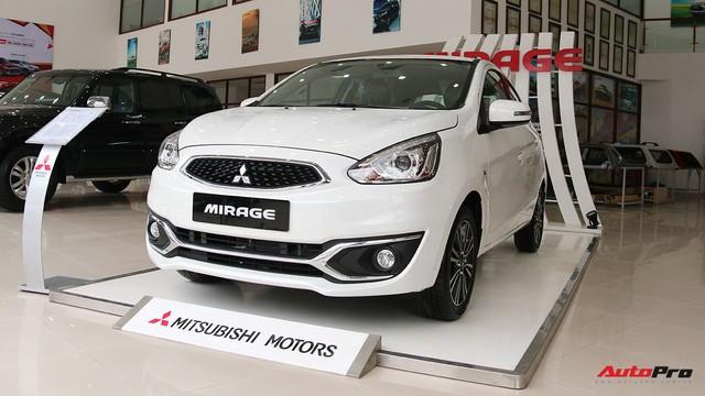 Mitsubishi Mirage và Attrage 2018 hạ giá rẻ nhất hạng B, cạnh tranh cả Toyota Wigo - Ảnh 1.