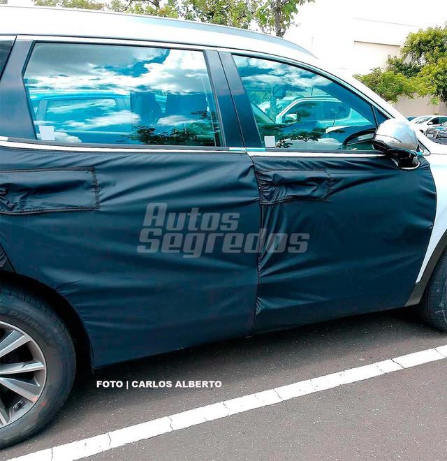Bắt gặp Hyundai Santa Fe thế hệ mới đang chạy thử - Ảnh 3.